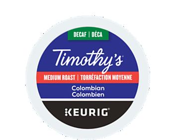 Colombien décaféiné recyclable