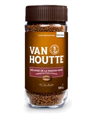 Van Houtte® café instantané Mélange de la maison noir