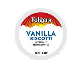 Vanilla Biscotti Coffee