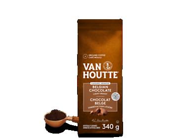 Café moulu chocolat belge