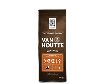 Café colombien noir signature en grains