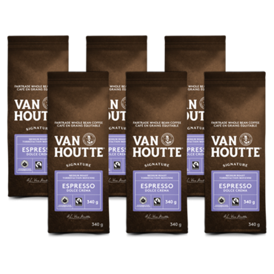 Café espresso dolce crema signature en grains