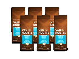 Café moulu vanille française