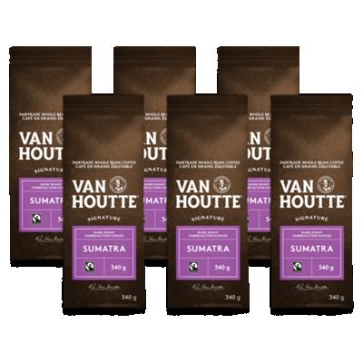 Café Sumatra signature en grains